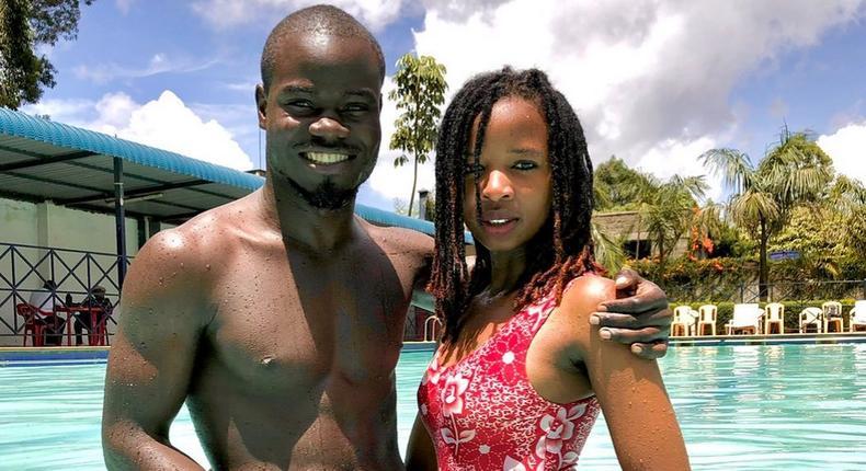 Mulamwah with Caroline Muthoni alias Sonie
