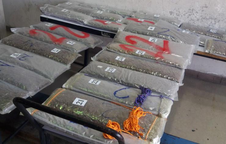 Više od 50 kilograma marihuane zaplenjeno je na GP Horgoš