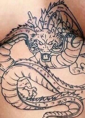 keltische drachen tattoos