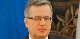 Komorowski chce sankcji wobec Rosji