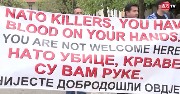 Protesti protiv NATO
