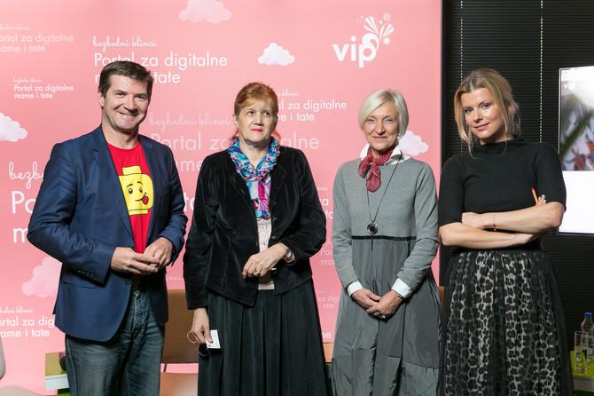 Dejan Turk, Biljana Lajović, Nataša Stojanović i Nataša Miljković