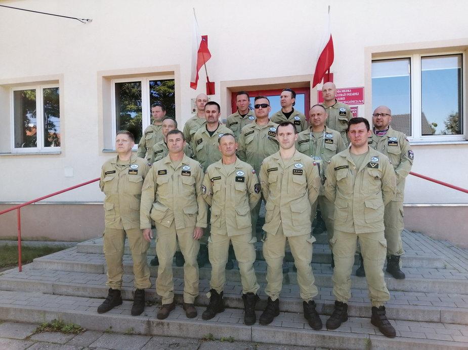 Łódzcy strażacy gotowi do pomocy w Bejrucie
