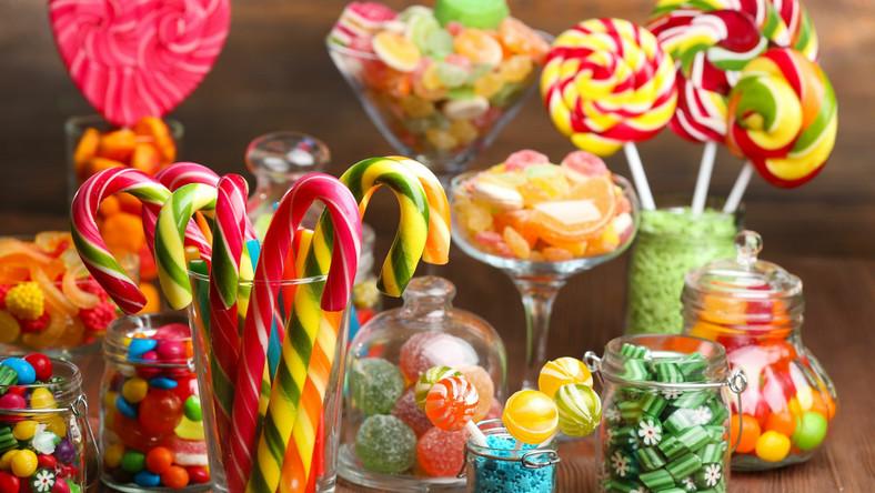 Kolorowe cukierki