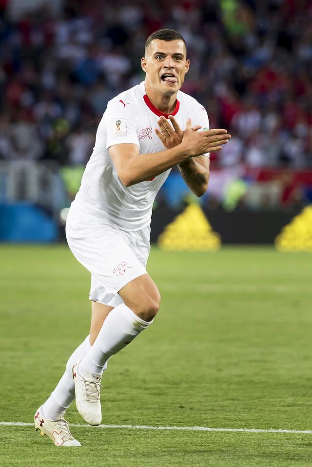 Granit Džaka je provocirao posle izjednačujućeg gola protiv Srbije