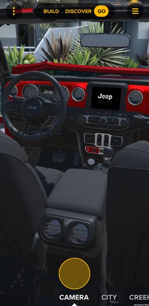 Aplikacja do konfiguracji nowego Jeepa