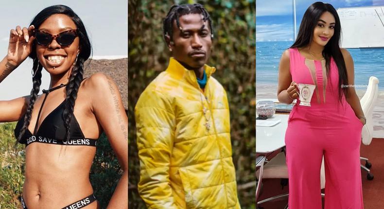 Adelle Onyango, Rapper Octopizzo  and Zari Hassan