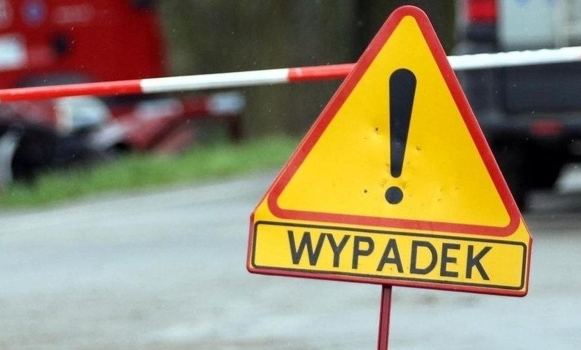 Wypadek na Podlasiu. Ranna kobieta i dziecko