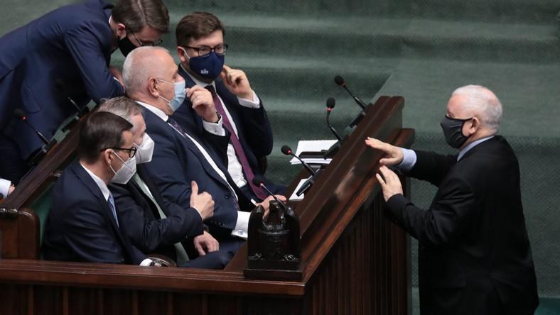 Rząd, Mateusz Morawiecki, Jarosław Kaczyński