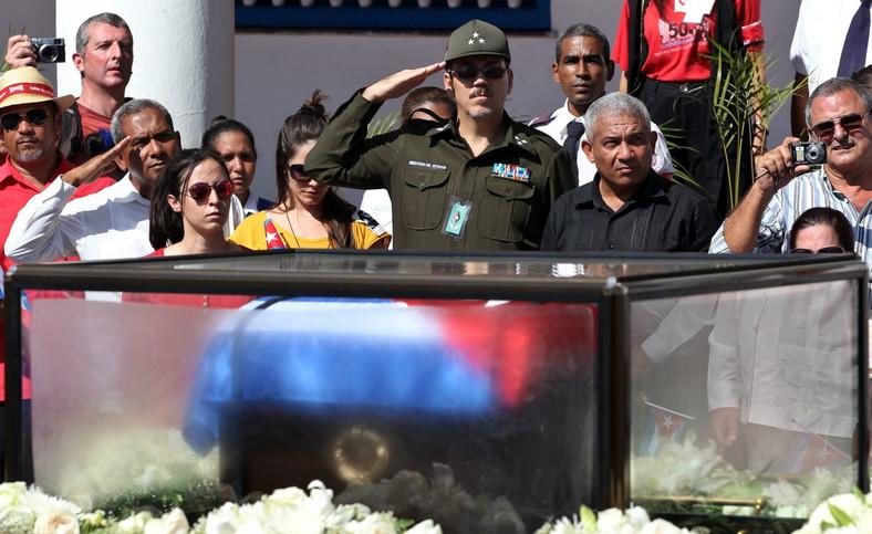 Urna z prochami Fidela Castro