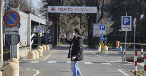 """Koronawirus we Włoszech. Utworzono """"czerwoną strefę"""""""