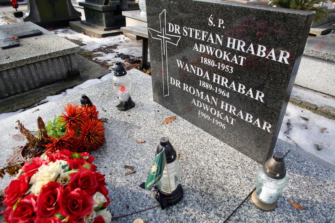 grób Romana Hrabara