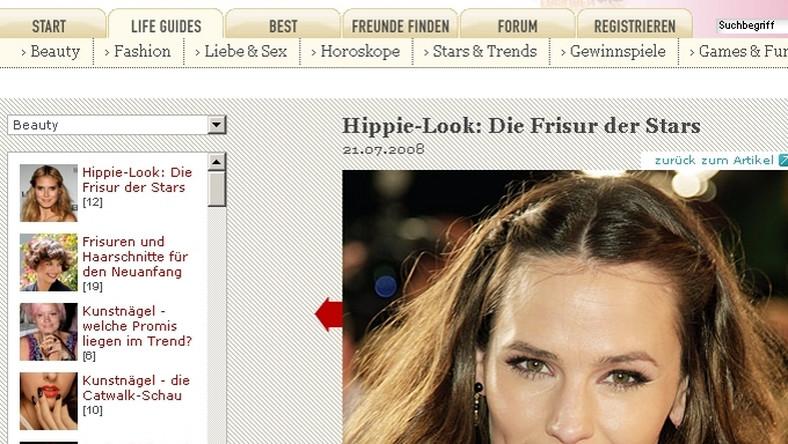 Jennifer Garner świetnie czuje się we fryzurze w stylu neohippie.