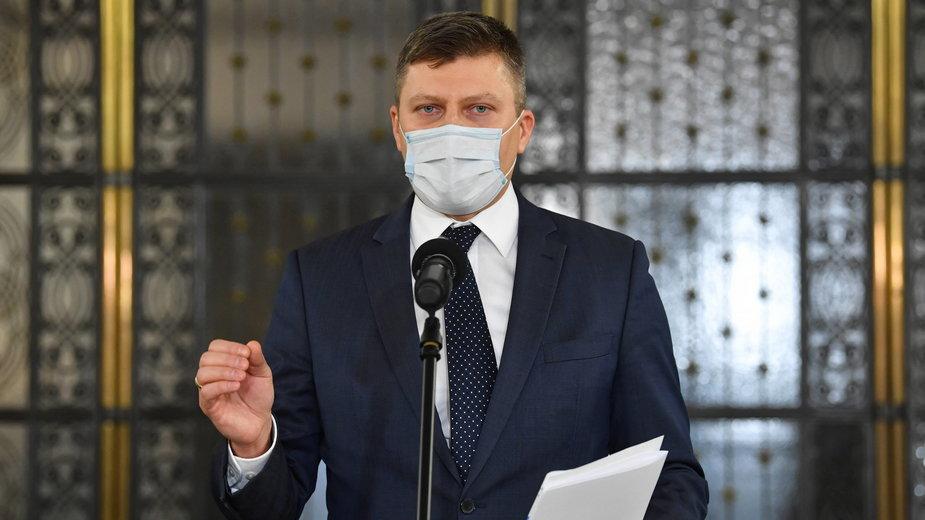Minister Marcin Warchoł