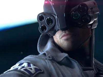 Kadr ze zwiastunu gry Cyberpunk 2077