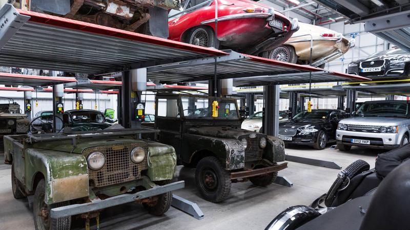 Jaguar Land Rover Classic Works w Coventry