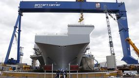 HMS Queen Elizabeth. Supernowoczesny lotniskowiec trafił do Royal Navy