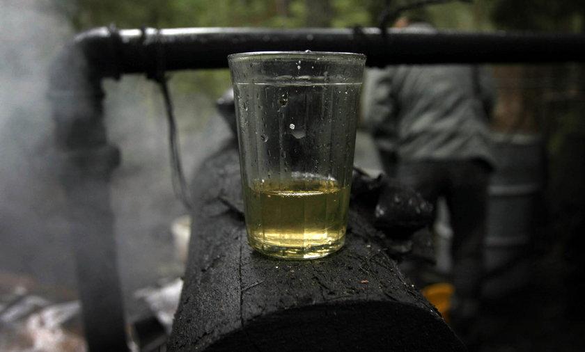 Skażony alkohol