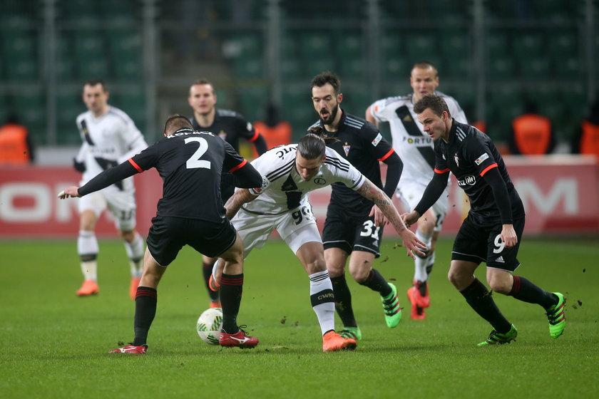Legia Warszawa pewnie pokonała Górnika Zabrze