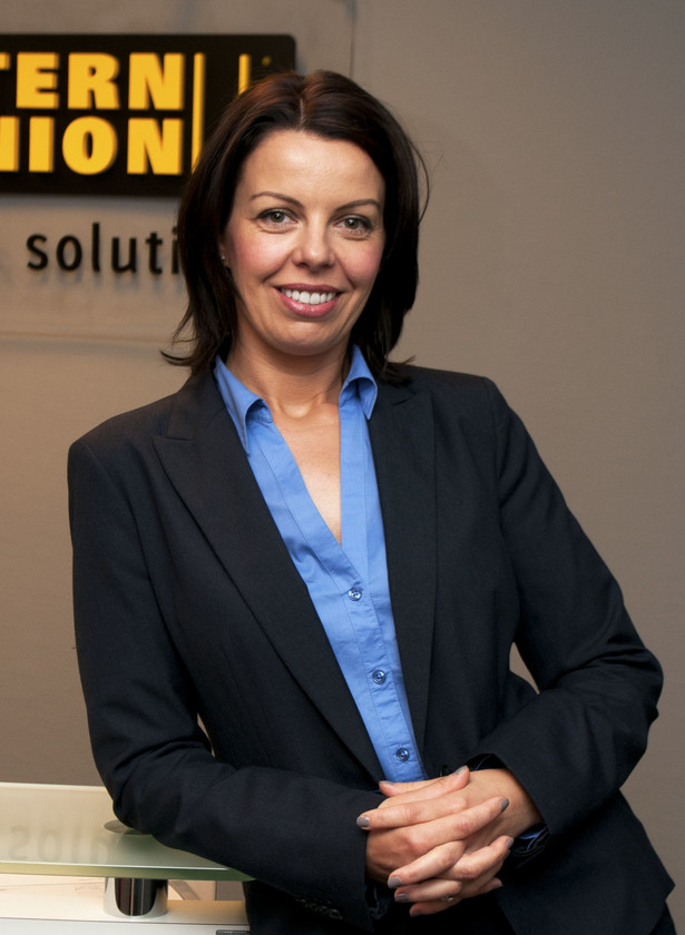 Joanna Rybus, Country Manager Western Union Business Solutions w Polsce