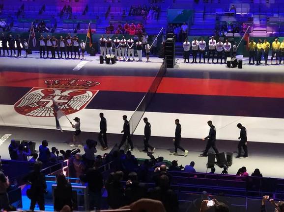 Ceremonija otvaranja Dejvis kupa