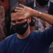 """OTKUD ON!? NIKO GA NIJE OČEKIVAO! Rodžer Federer iznenadio sve dolaskom u Ameriku, kada su ga kamere """"uhvatile"""" - počele su ovacije!"""