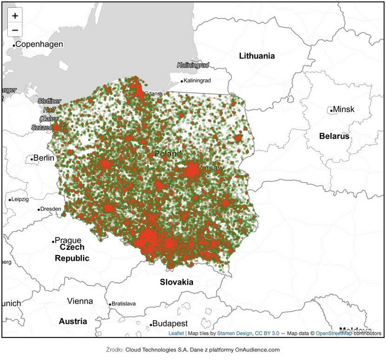 Polska mapa 2