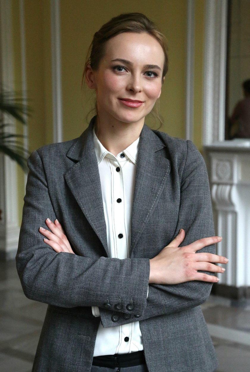 Anna Dudkiewicz, rzecznik prasowy budującej metro firmy Gulermak