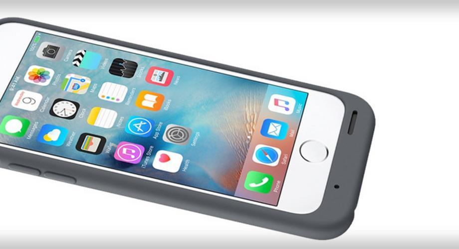 Smart Battery Case: Apple bringt Akkuhülle für iPhone 6s