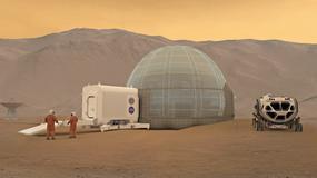 Nowy pomysł na marsjański habitat