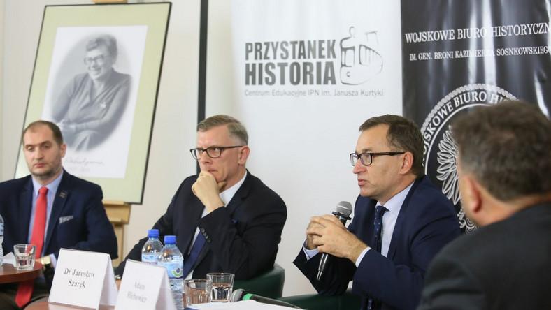 Adam Chmielecki, Sławomir Cenckiewicz, Jarosław Szarek