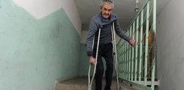 Niepełnosprawny pogorzelec dostał mieszkanie... na strychu