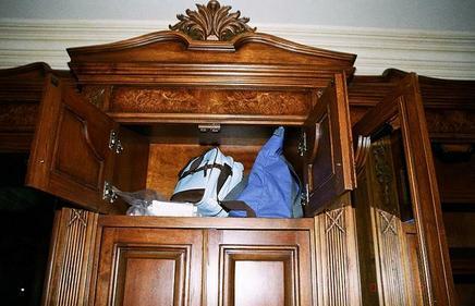 Dom Michaela Jacksona W Dniu Jego śmierci Sypialnia