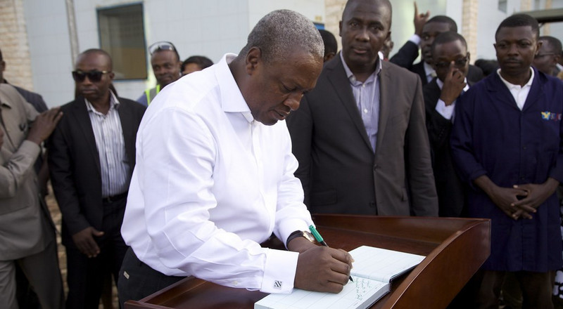 I suffered a lot when NPP deliberately tagged me as corrupt – Mahama