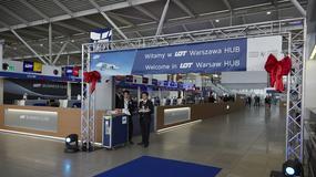 LOT otworzył centrum przesiadkowe na Lotnisku Chopina