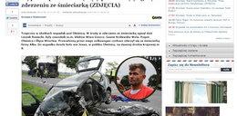 Znany piłkarz zginął pod kołami śmieciarki