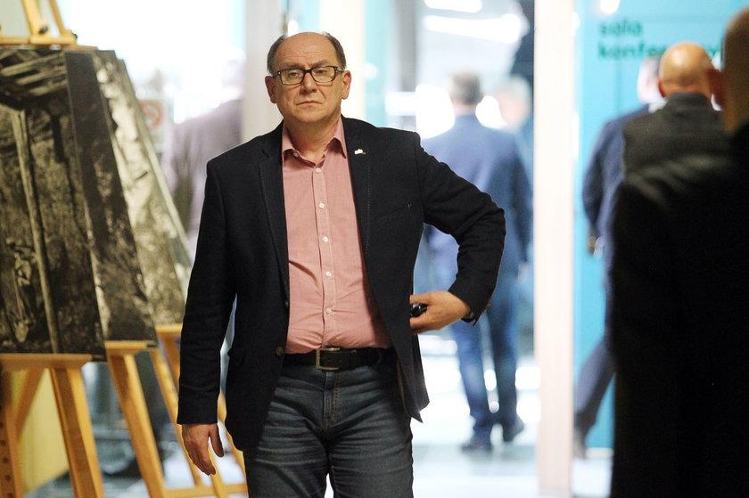 """Bogusław Hutek, szef """"Solidarności"""" w PGG"""