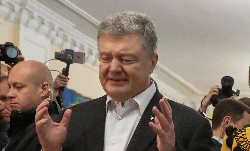 Poroszenko skomentował swoją przegraną