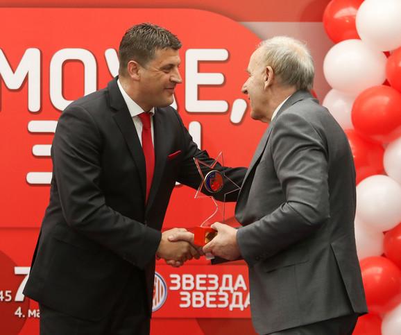 Vladan Milojević i Dragan Džajić