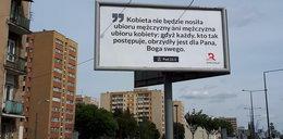 Kontrowersyjny billboard w Warszawie. Czyj to pomysł?