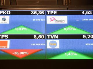 TVN Orange Tauron PKO BP GPW wykres