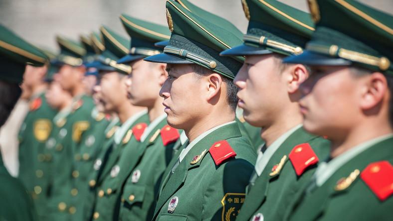 Chińscy policjanci