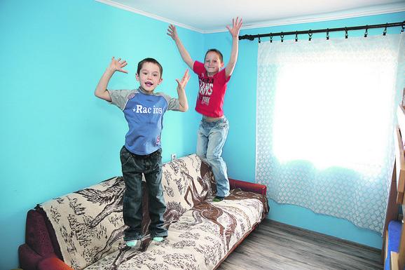 Radost: Svako ima svoju sobu