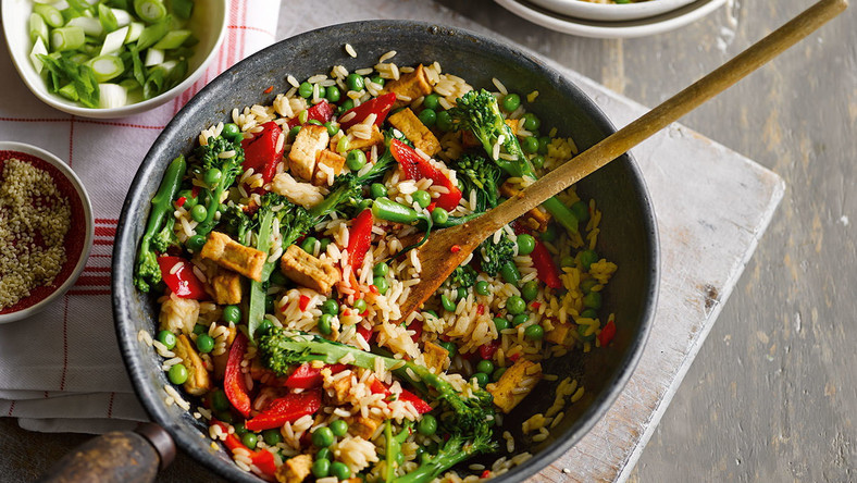 Vegetable rice(Tesco Real Food)