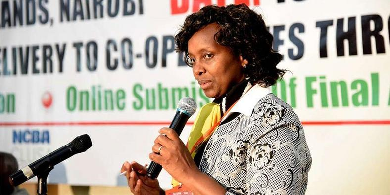 Image result for Commissioner of Co-operative Development Mary Mungai