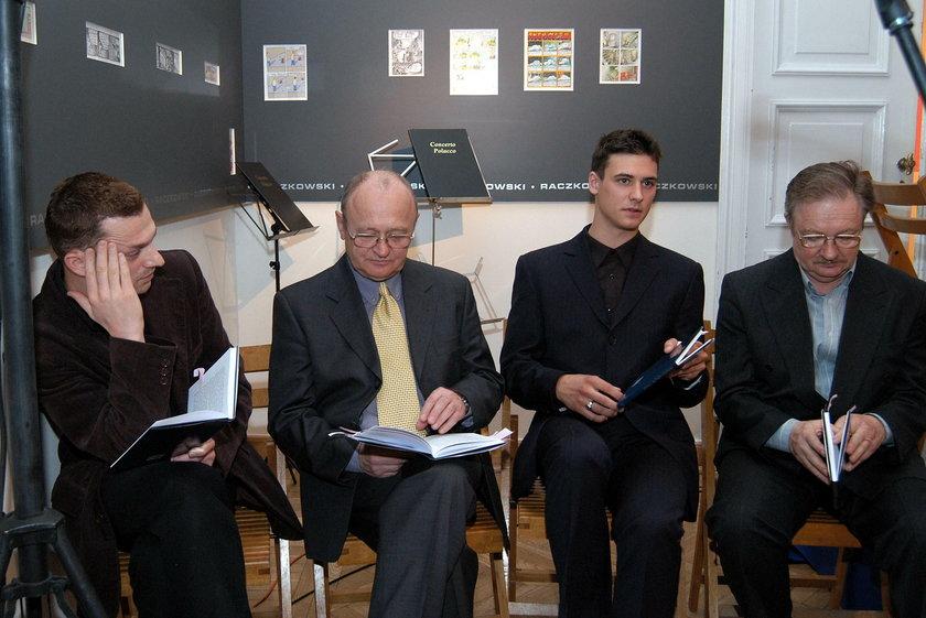 Od lewej: Grzegorz, Maciej, Mateusz  i Damian Damięccy