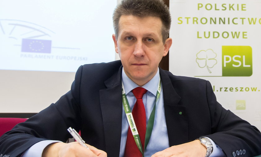 Jan Bury, posełPSL