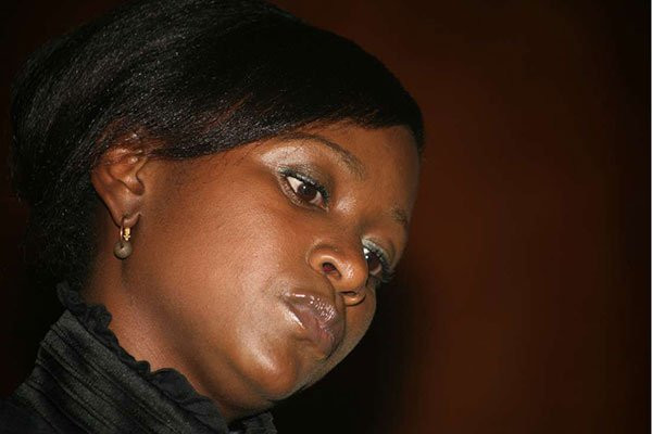 Esther Arunga, a former TV presenter