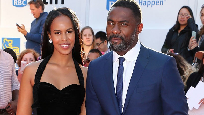 Idris Elba and wife, Sabrina (Dreddsworld)