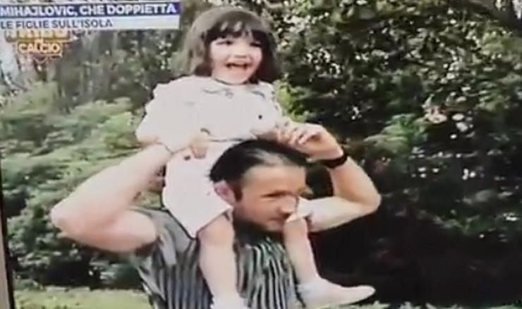 Siniša i ćerka